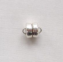 Sterling Silver 6mm Magnetic Clasp - 1